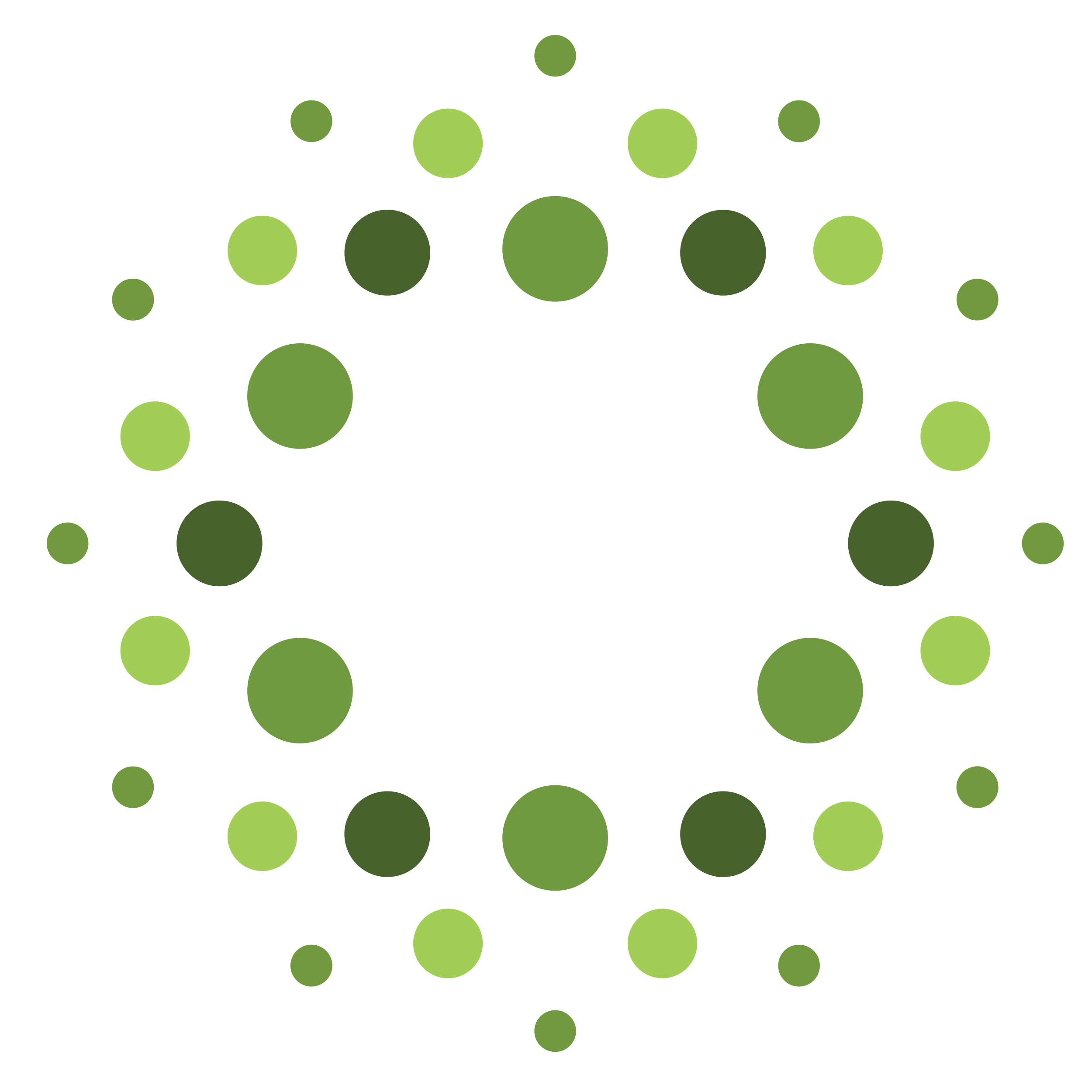 Dots from logo